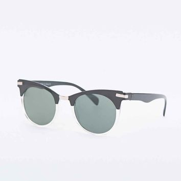 Marianne Sunglasses in Black - Urban Outfitters