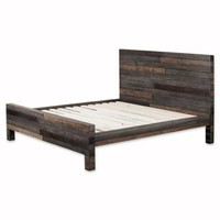 Moe's Home Collection Vintage Collection King Bed in Grey
