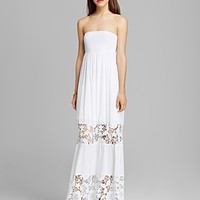 GUESS Maxi Dress - Embroidered Lace