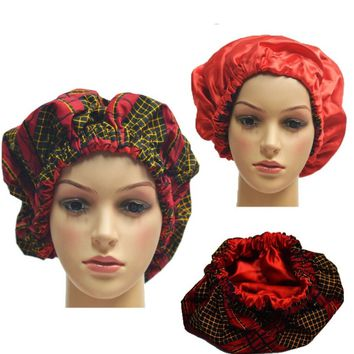 Geeerzzz Satin-Lined Hair Bonnet