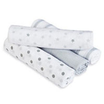 aden® by aden + anais® swaddleplus® 4 Pack - Dove