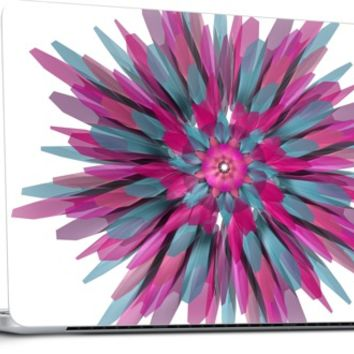 Bloom, Apple laptop skin, by Obvious Warrior @Nuvango.com