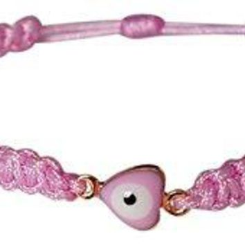 AUGUAU Baby Girl Gifts Newborn Pink Heart Bracelet for Protection, Mal De Ojo Exclusive Design!