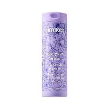 Bust Your Brass Cool Blonde Shampoo - amika   Sephora