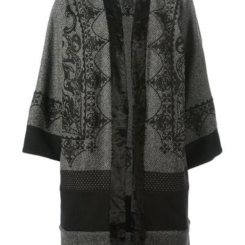 Etro embroidered paisley coat