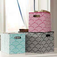 Mix 'N' Match Quincy Scallop Storage Bins