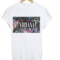 Nirvana Flowers Shirt