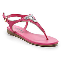 MICHAEL Michael Kors Girls' Demi Nina Sandals - Fuchsia