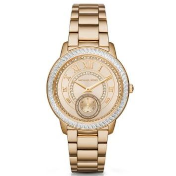 Madelyn Pavé Gold-Tone Watch | Michael Kors