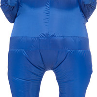 Blue Inflatable Adult Suit