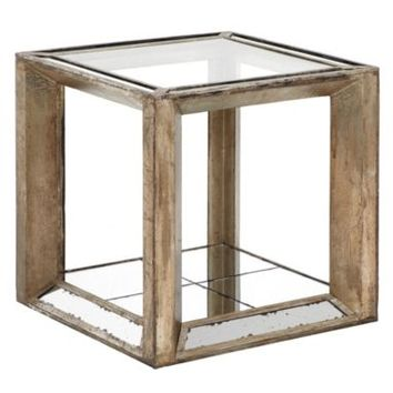 Pascual End Table | Mirrored Furniture | Furniture | Z Gallerie