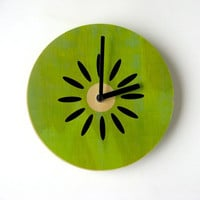 Objectify Fruity Wall Clocks by ObjectifyHomeware on Etsy