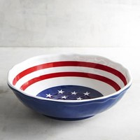 Flag Melamine Bowl