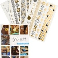 FLASH TATTOOS GOLDFISH KISS H20 SET