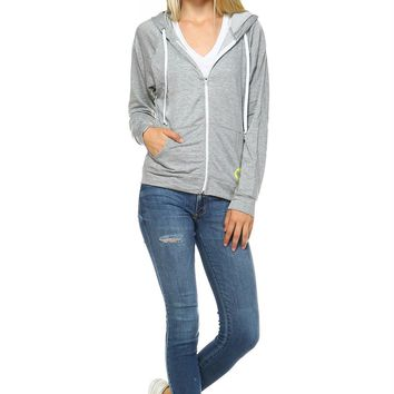 Women's Zip Up Hoodie Sweater