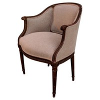 1920s French Louis XVI-Style Bergère