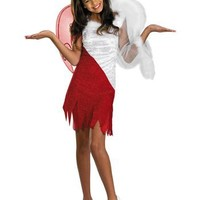 Disguise Sassy Scene Heavenly Devil Deluxe Tween Costume, 7-8