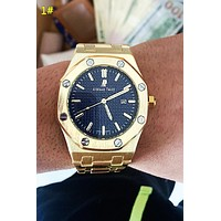 Audemars Piguet New Fashion Women Men Quartz Watches Wrist Watch 1#