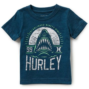Hurley Little Boys 2T-7 Short-Sleeve Depths Tee | Dillards