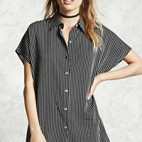 Contemporary Pinstripe Shirt