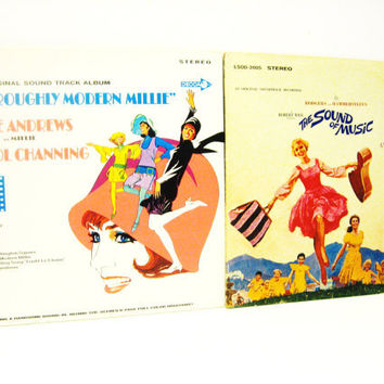 Julie Andrews Record Collection - The Sound of Music - Thoroughly Modern Millie