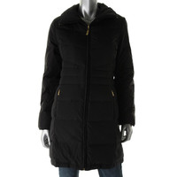Ellen Tracy Womens Down Filled Quilted Puffer Coat