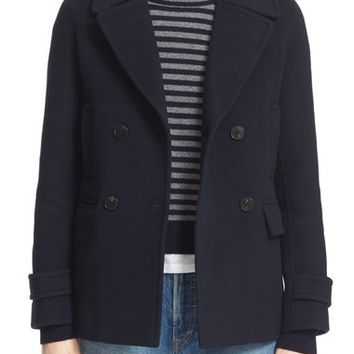 Vince Wool & Cashmere Peacoat   Nordstrom