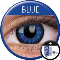 ColourVue Blue Coloured Contacts (Kit)