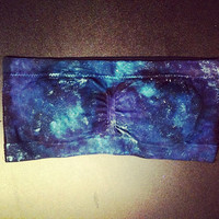 Galaxy Clothing Bandeau Top tube top swimsuit womens clothes