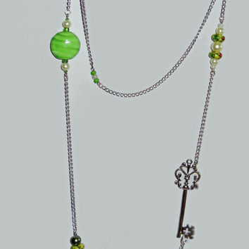 Key Lime Charmer Necklace