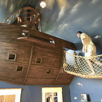 Kids nautical bedroom