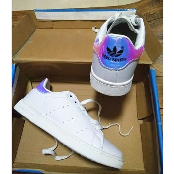 """stan smith"" Fashion Flats Sneakers Sport Shoes Laser"