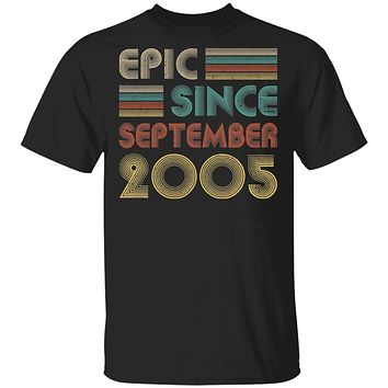 Epic Since September 2005 Vintage 15th Birthday Gifts