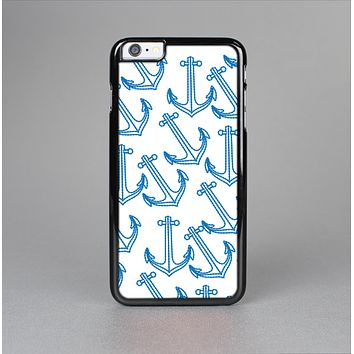 The Blue Anchor Stitched Pattern Skin-Sert for the Apple iPhone 6 Plus Skin-Sert Case