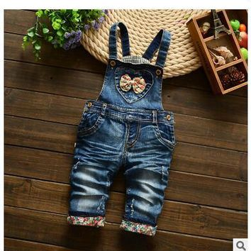 Hot Sale Overall Jumpsuit Toddler Clothing Bodysuit the cowboy Cotton Thick Outerwear