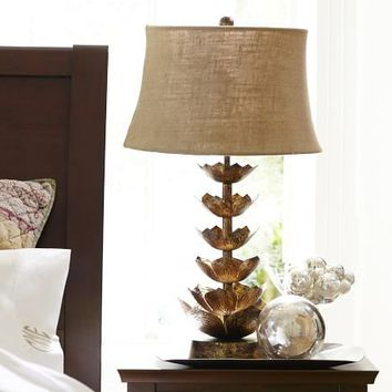 Lotus Flower Table Lamp Base