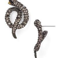 Alexis Bittar Elements Swarovski Crystal Coiled Serpent Stud Earrings | Bloomingdales's