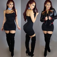 2017 Plus Size Women Clothing Autumn Long Sleeve Mini Bodycon Tunic Slim Party Sexy Clubwear Side Split Tshirt Bandage Dress