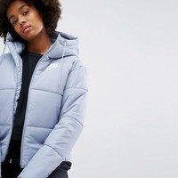 Nike Short Padded Jacket With Branded Waistband at asos.com