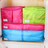 New Style Clothing Storage Boxes 3 Colors Sorting Organizer Bags Bins