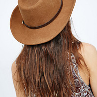Christys' Crushable Western Hat in Brown - Urban Outfitters