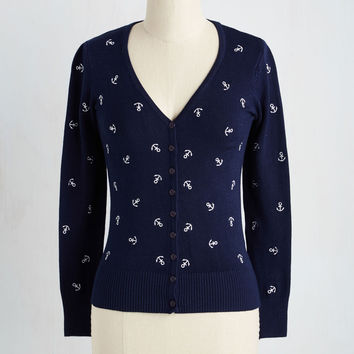 Ahoy With the Idea Cardigan | Mod Retro Vintage Sweaters | ModCloth.com