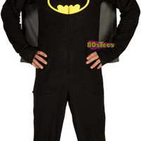 Batman Masked Pajamas With Cape