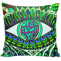 Open Your Eyes Pillow