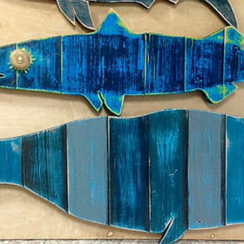 Whale Sign Extra Large Beach House Nautical Coastal Living Wall Decor by CastawaysHall