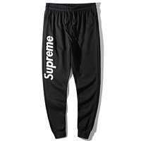 Supreme Edgy Simple Pants Trousers Sweatpants