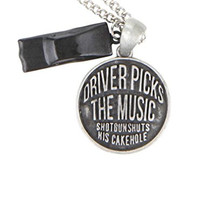 Supernatural Driver Picks The Music Charm Necklace Jewelry