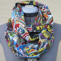 Marvel Comic Book Infinity Scarf - Ready to ship