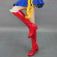 Cosplay Sailor Moon Tranformer Senshi Boots Shoes Custom Free Ship SP140896