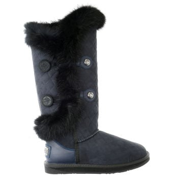 Australia LUXE Collective Nordic Angel X-Tall Rabbit Fur & Sheepskin Winter Boot - Womens